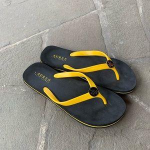Ralph Lauren flip-flops